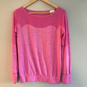 Nike Pink Long Sleeved Dri-Fit Top